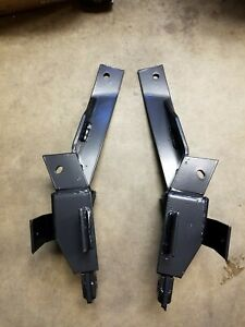 Nos Fisher Minute Mount Plow Push Plates 7161 99 02 Gm 2500 3500