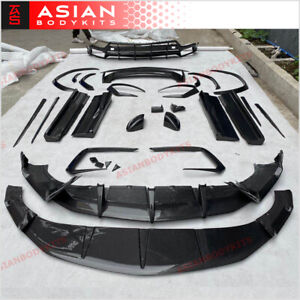 Carbon Body Kit For Lamborghini Urus 2018 Front Lip Diffuser Spoiler