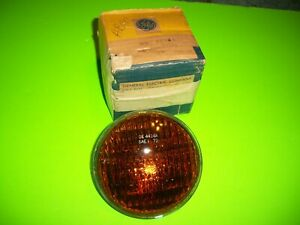 Ac Guide Sealed Beam 4414a Amber 12 Volt