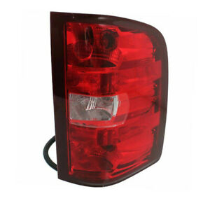 11 14 Chevy Silverado sierra Truck Taillight Taillamp Tail Light Lamp Right Side