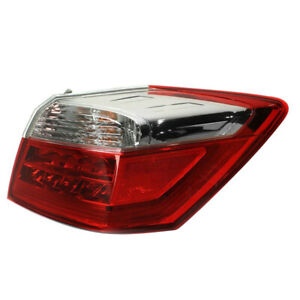 For 13 15 Accord Ex l touring Outer Taillight Taillamp Rear Tail Lamp Right Side