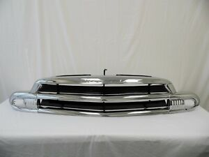 1951 Chevy Car Grille original Triple Plated