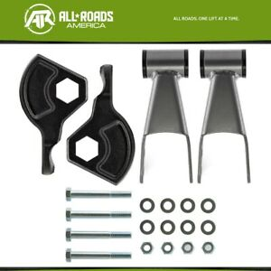 3 Front 2 Rear Shackle Lift Kit For 1998 2003 Dodge Durango 4wd