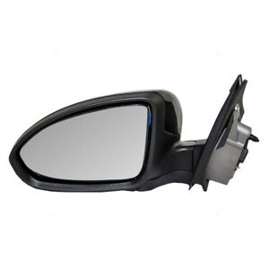 Power Door Mirror Fits 2011 2015 Chevy Cruze 2016 Limited Driver Side 19258657