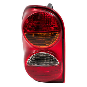 Tail Light Assembly For 02 04 Jeep Liberty Drivers Lens With Harness 55155829af