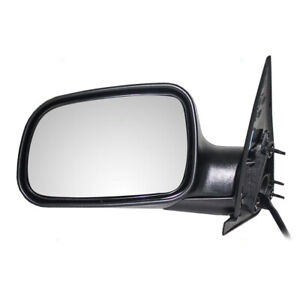 Side View Power Mirror For 99 04 Jeep Grand Cherokee Drivers Textured 55155447ad