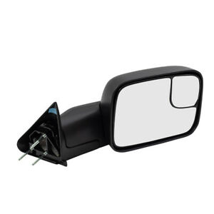 Tow Mirror For 94 02 Dodge Ram Pickup Passenger Manual New Arm Design 55156334ad
