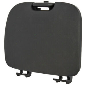 Black Overhead Console Storage Cover Lid Fits Ford Super Duty Pickup Explorer
