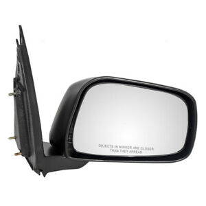 09 13 Suzuki Equator Pickup Truck Passengers Side View Manual Mirror 96301 9bc9a