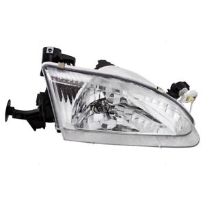 Fits Toyota Corolla 98 00 Passengers Headlamp Lens W Housing Headlight Assembly