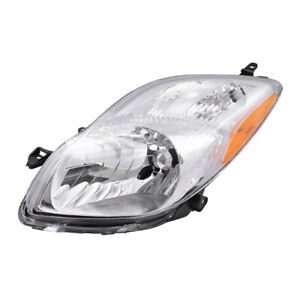 Fits Toyota Yaris Hatchback 09 11 Drivers Headlight Headlamp Lens Assembly