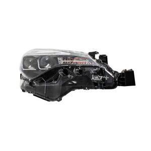 Fits 17 19 Toyota Corolla Bumper Mounted Led Drl Passengers Headlight 8111002m90