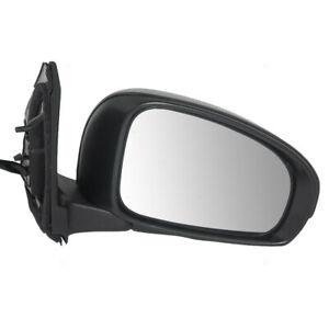 Fits Scion Iq 12 14 Passengers Side View Power Mirror With Signal Glass Assembly