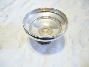Antique Pressner Sterling Silver Candy Compote Edge