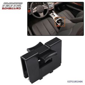 For Subaru Outback 2010 2014 Center Console Cup Holder Insert Divider Black