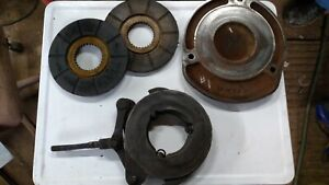 Oliver 880 Brake Actuator With Disks Backing Plate Used Fair Condition