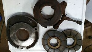 Oliver 880 Brake Actuator Disks And Backing Plate Used Good Condition