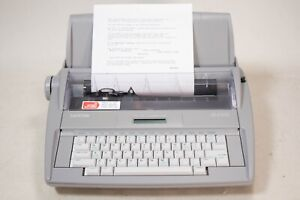 Excellent Brother Sx 4000 Electronic Typewriter Lcd Display Dictionary Tested