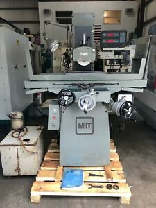 Mitsui Msg 205mh 6 X 18 Hand Feed Surface Grinder Dro gmt 2129