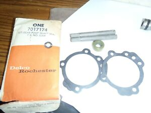 1957 1965 Rochester Corvette Nos Fuel Injection Pump Shaft Seal Kit Genuine Gm