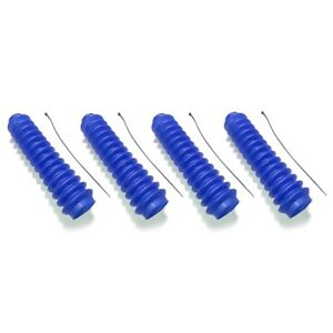 Daystar Universal Full Size Royal Blue Shock Boot Cover Set Fits Most Shocks