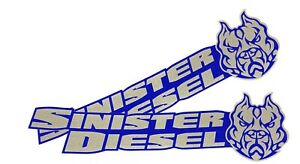 Sinister Diesel Stickers 2 Pack 7 X2