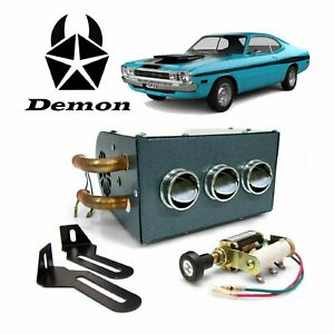 1960 76 Mopar A Body Compact 12v Auxiliary Under Dash Cab Heater Demon
