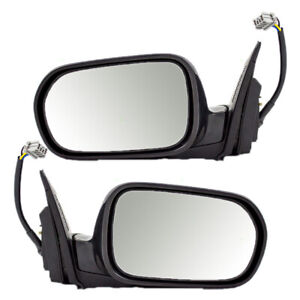Fits Acura Rsx 02 03 04 05 06 Set Of Side View Power Smooth Mirrors Heated