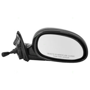 Fits Honda Civic Sedan 92 95 Passengers Side View Manual Remote Mirror Assembly