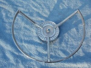 1959 Ford Galaxie Steering Wheel Horn Ring Cap