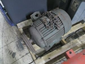 Pacemaker Ac Motor 6 963036 40 25hp 1800rpm Fr 284t 230 460v 60 30a 3ph Used
