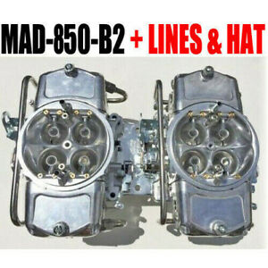 Demon Mad 850 B2 850 Cfm Gas Blower Supercharger Carbs W Fuel Lines Linkage Kit
