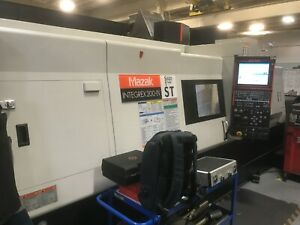 2010 Mazak Intergrex 200 iv Sy Cnc Lathe And Milling Priced To Sell