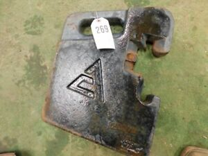 Allis chalmers Suticase Weight Part 269780 Tag 270