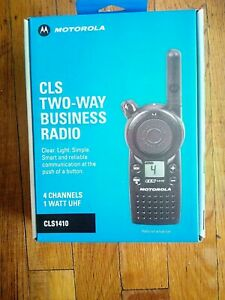 Motorola Cls 1410 2 Way Radio