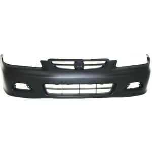 Bumper Cover Front Coupe For Honda Accord 2001 2002 Ho1000195 04711s82a91zz