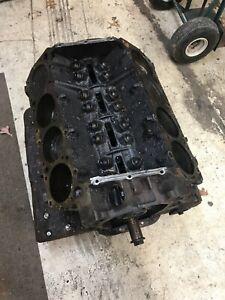 1966 Mopar 383 Short Block Dated 5 2 66 Chrysler Dodge Plymouth Std Bore Size
