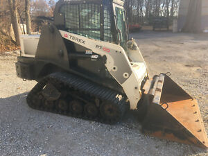 2013 Terex Pt50 1500 Hours Skid Steer Track Loader Mtl Cab And Heat