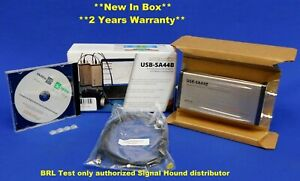 Signal Hound Usb sa44b Spectrum Analyzer 4 4 Ghz new In Box