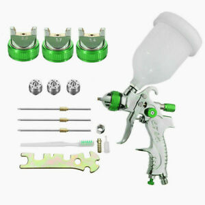 Hvlp Auto Paint Air Spray Gun Kit Gravity Feed Car Primer 1 4 1 7 2 0mm Nozzle