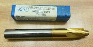 Sgs Tool Company Solid Carbide Step Reamer Drill 1256 t 006a
