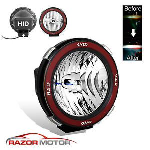 Universal 4 Inch Built In Xenon Hid 4x4 Off Road Rally Driving Fog Light Lamp