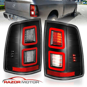 2009 2018 Dodge Ram 1500 2010 2018 Ram 2500 3500 Black Led Brake Tail Lights