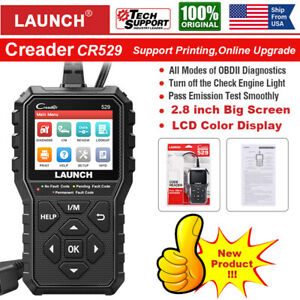 Launch X431 Automotive Obd2 Engine Code Reader Diagnostic Scanner Emission Test