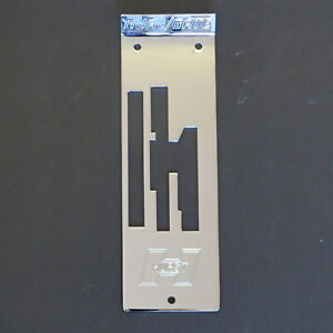 Hurst Dual Gate 2 Chrome Top Plate 1950140 New Old Stock