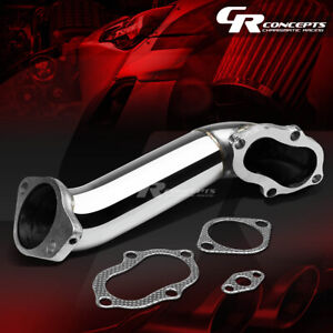Rear Turbo Outlet Downpipe Exhaust Elbow Pipe Jdm For Mit 3000gt Gto Vr4 stealth