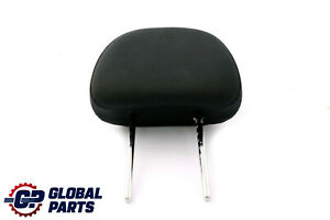 Bmw Mini R50 R52 Front Seat Fabric Cloth Headrest Panther Black Molette