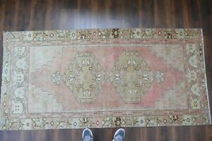 Anatolian Turkish Rug Contemporary Oushak Handwoven Wool Antique Carpet 3 8x7 9