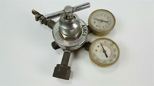 Airco Welding Gas Regulator Gauges 806 9206 540 Cga Oxygen