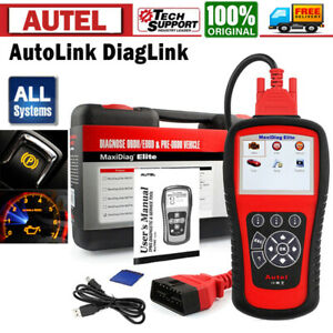 Autel Diaglink Obd2 Car Diagnostic Tool Code Reader Abs Srs Epb Oil Reset Tool